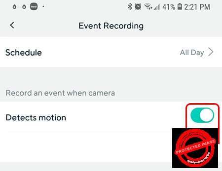 Wyze Cam Motion and Sound Detection
