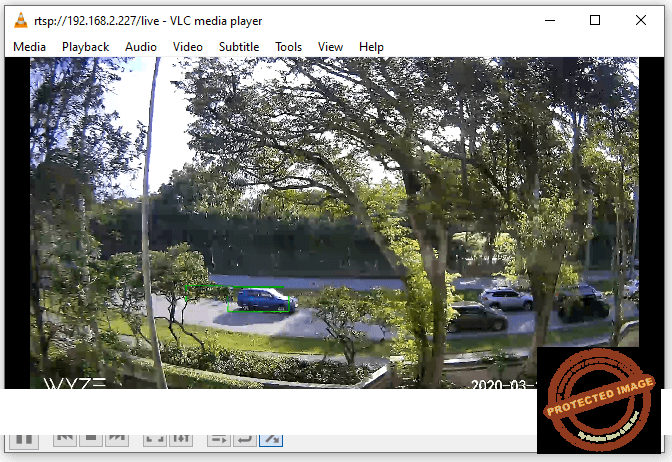 Wyze Cam RTSP video on VLC