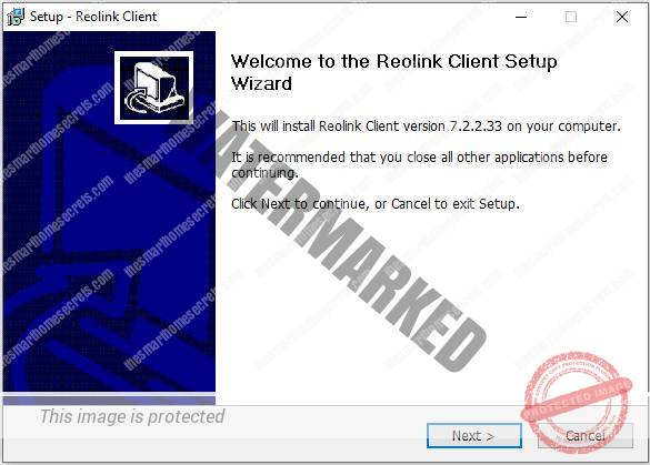 Reolink Client Installation 01