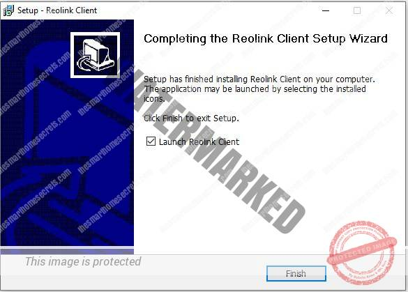 Reolink Client Installation 06