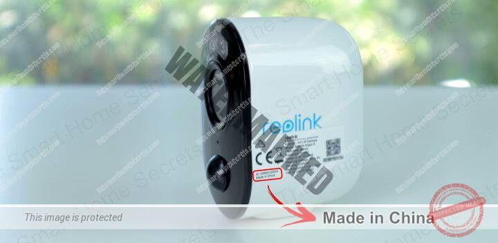 Reolink made in China