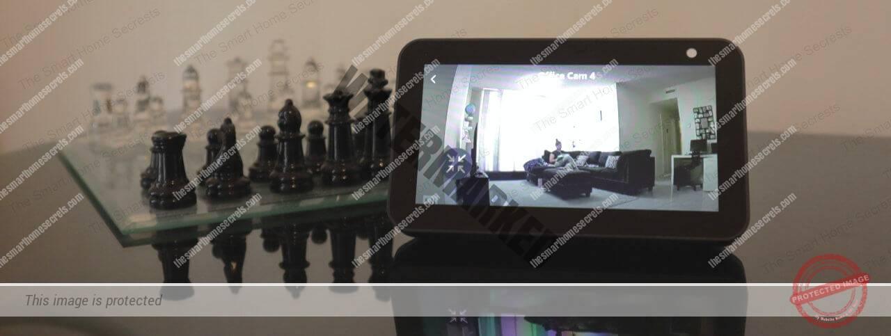 Echo Show Displays Yi Home Camera