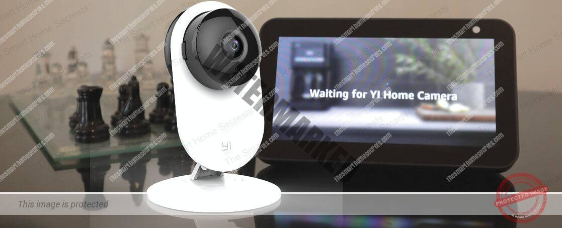 Yi Home Camera Integrated with Alexa