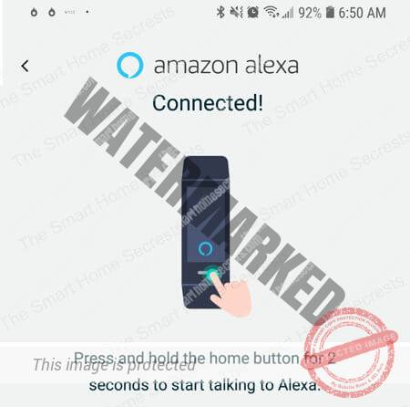 Wyze Band Connected to Alexa