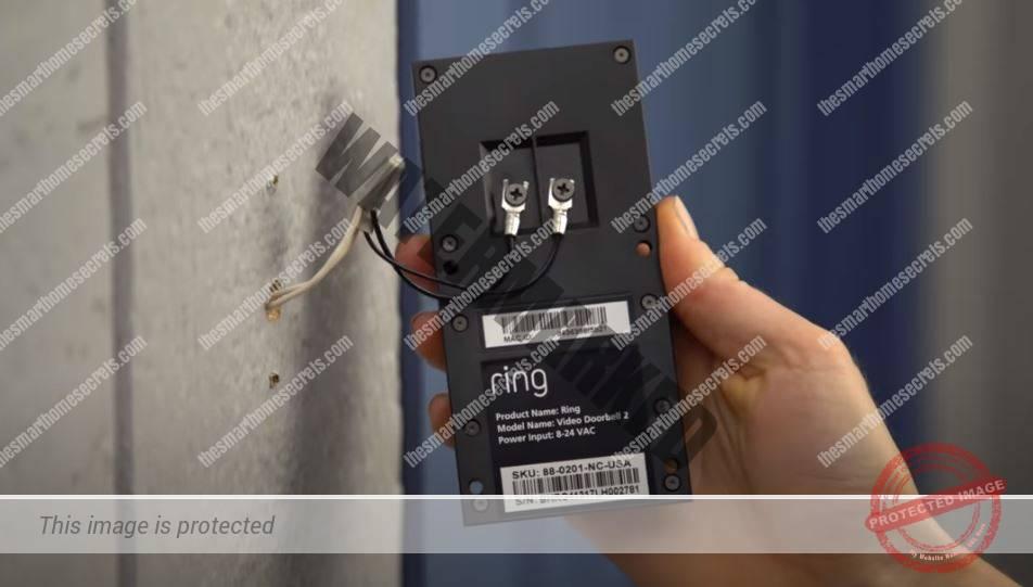 Ring Video Doorbell-2 wires