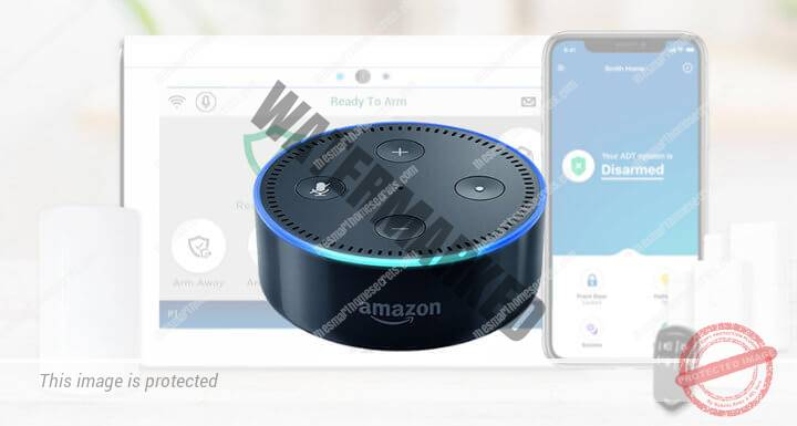 How to connect ADT to Alexa