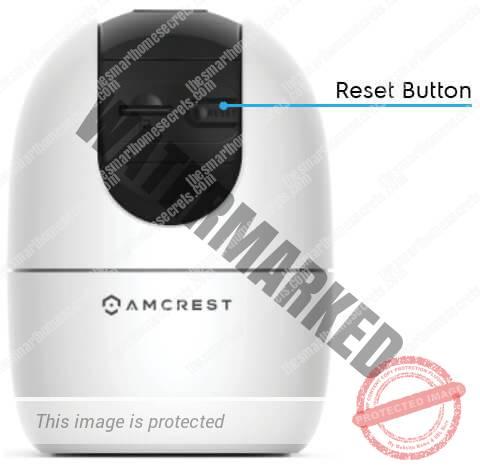 Amcrest ASH21 Reset Button