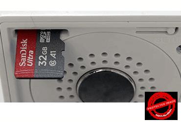Wyze Cam MicroSD Card Slot
