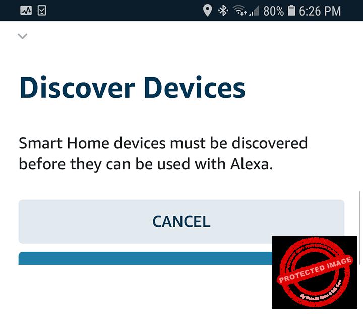 Alexa Discover Device
