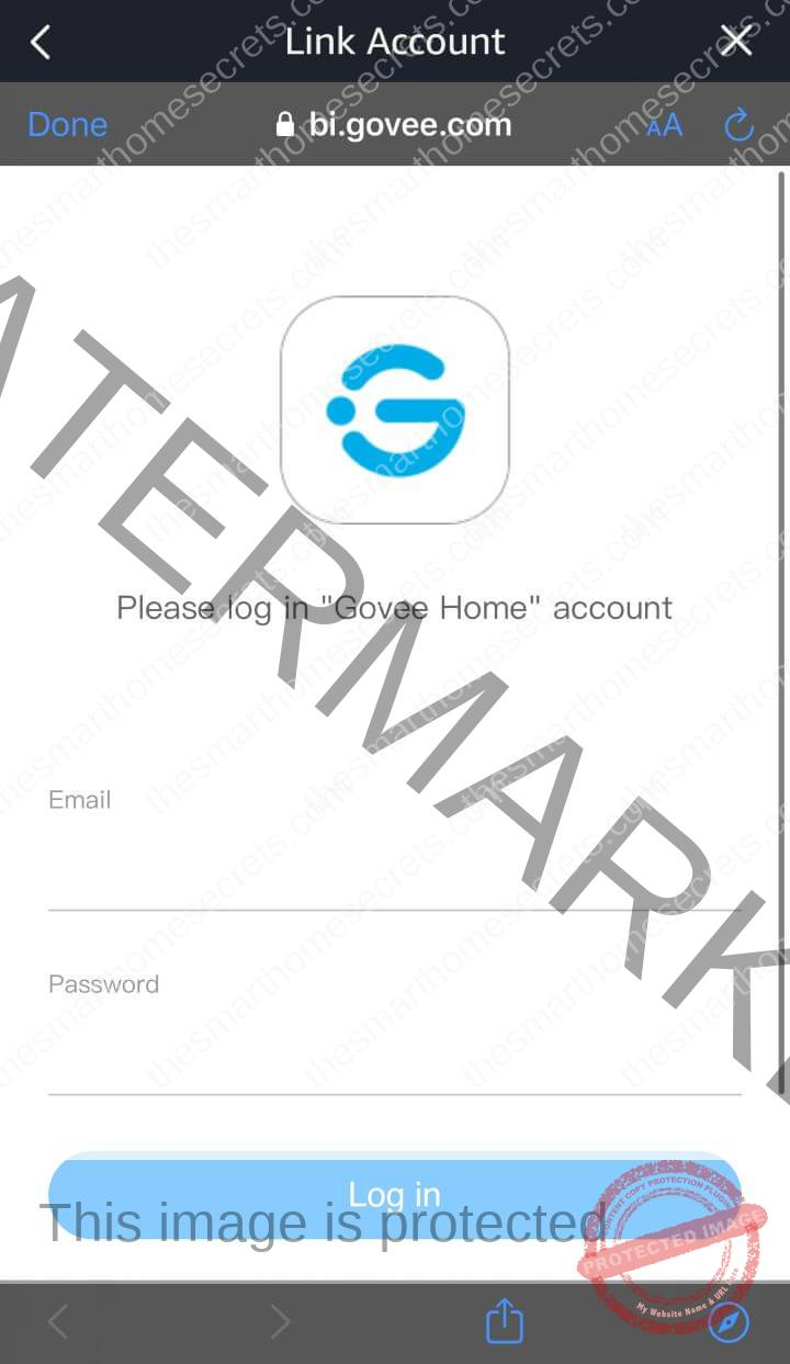 How to connect Govee Lights to Alexa