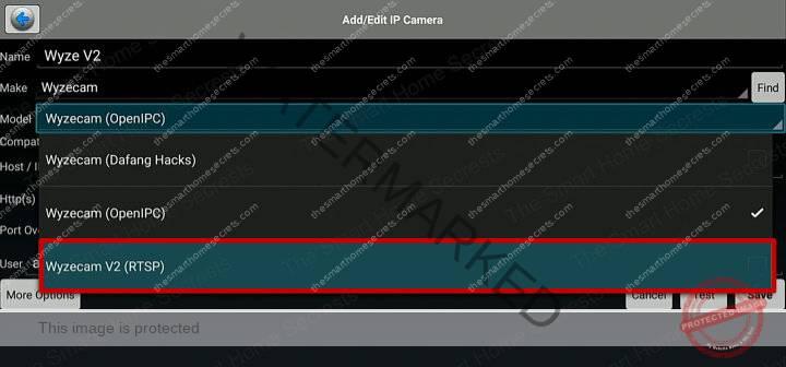 Wyze Cam RTSP