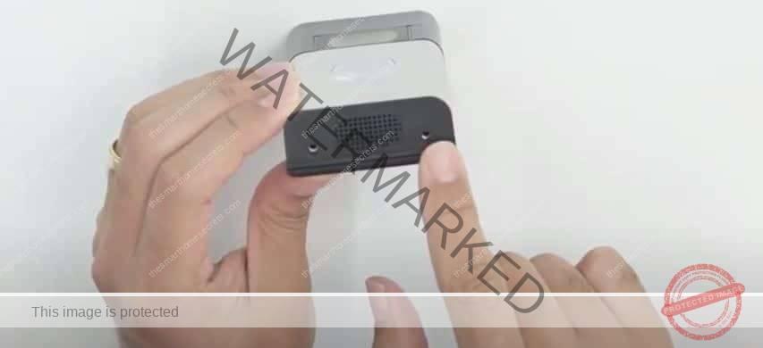 Ring Video Security screws