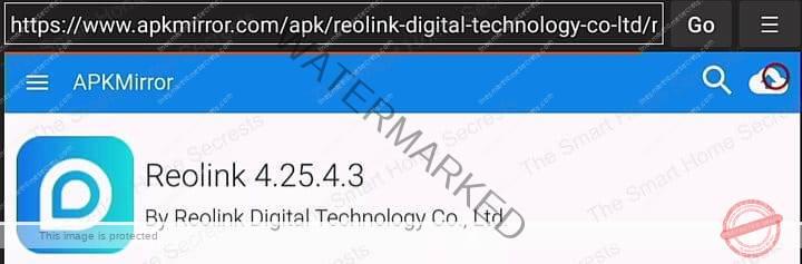 Reolink APK Version 4 25 4 3