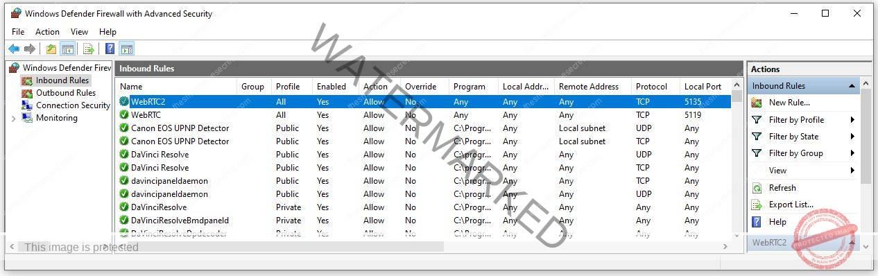 Unteal Media Server Windows Firewall