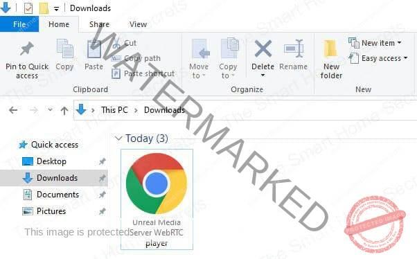 WebRTC Html File